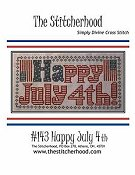 The Stitcherhood - Happy July 4th