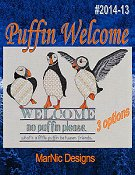 MarNic Designs - Puffin Welcome THUMBNAIL