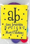 Amy Bruecken Designs - More Stitching Embellishment Pack
