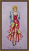 Cross Stitching Art - Marilyn, It's Me Sugar