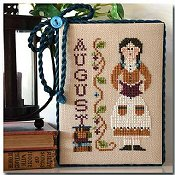 Little House Needleworks - Calendar Girls #8 - August