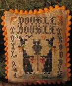Homespun Elegance - A Halloween Year II - August - Double Trouble
