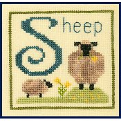Elizabeth's Designs - S Is For Sheep