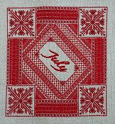 Northern Expressions Needlework - Birthstone Series - July Ruby THUMBNAIL