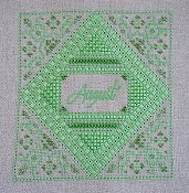 Northern Expressions Needlework - Birthstone Series - August Peridot THUMBNAIL