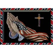 Cody Country Cross Stitch - America's Praying Hands THUMBNAIL