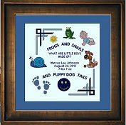 Cody Country Cross Stitch - Little Boys
