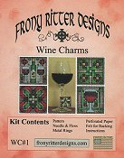Frony Ritter Designs - Wine Charms Kit THUMBNAIL