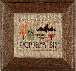 Heart In Hand Needleart - A Smidgen of Halloween MAIN