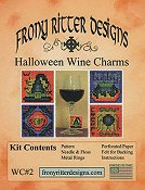 Frony Ritter Designs - Halloween Wine Charms Kit