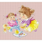 Lena Lawson Needlearts - Breakfast For Dolly THUMBNAIL