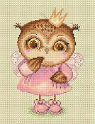 Lena Lawson Needlearts - Princess Owl THUMBNAIL