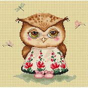 Lena Lawson Needlearts - Owl in Love THUMBNAIL