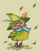 Lena Lawson Needlearts - Autumn Owl THUMBNAIL