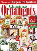 Just Cross Stitch 2014 Christmas Ornament Issue THUMBNAIL