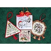 Brittercup Designs - Christmas Ornaments II