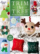 Annie's Cross Stitch - Trim the Tree Christmas Ornaments To Stitch