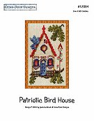 Cross-Point Designs - Patriotic Bird House THUMBNAIL