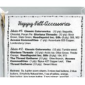 Jeannette Douglas Designs - Happy Acorn Fall Accessories Embellishment Pack