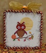 The Stitchworks - Owl Series - Rusty Whoo
