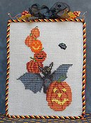 The Stitchworks - All Stacked Up Halloween Bat