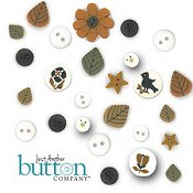 Just Another Button Company - Chalkwork Pumpkins THUMBNAIL
