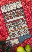 Rosewood Manor - Christmas Stars Quilt Stocking THUMBNAIL