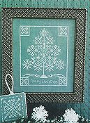 Scissor Tail Designs - Snowflake Tree