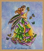 Cross Stitching Art - Lanae, The Summer Fairy THUMBNAIL