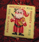 Tempting Tangles Designs - Naughty or Nice Santa