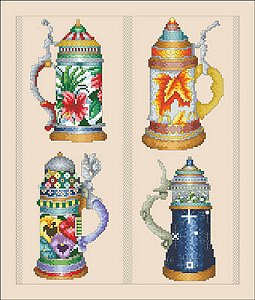 Vickery Collection - Beer Stein Seasons MAIN