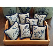 Priscilla's Pocket - Stoneware Pinpillows