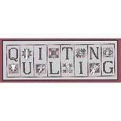 Hinzeit - Mini Block - Quilting THUMBNAIL