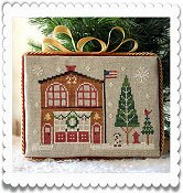 Little House Needleworks - Hometown Holiday Series - #7 Firehouse THUMBNAIL