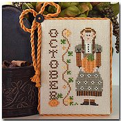 Little House Needleworks - Calendar Girls #10 - October THUMBNAIL