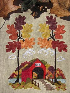 By The Bay Needleart - Autumn In Vermont MAIN