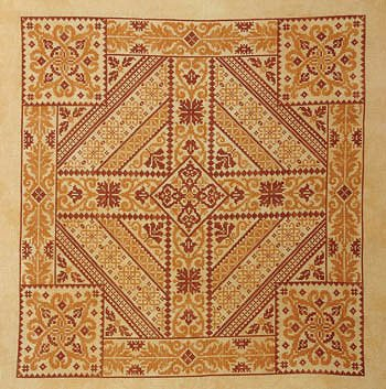 Northern Expressions Needlework - Shades of Orange MAIN
