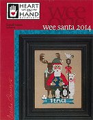 Heart In Hand Needleart - Wee One - Wee Santa 2014