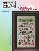 Heart In Hand Needleart - Christmas Means More THUMBNAIL