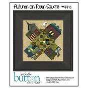 Just Another Button Company - Autumn On Town Square THUMBNAIL