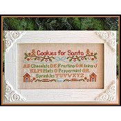Country Cottage Needleworks - Cookies For Santa THUMBNAIL