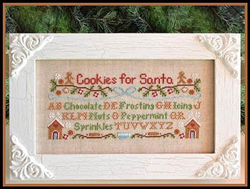 Country Cottage Needleworks - Cookies For Santa MAIN