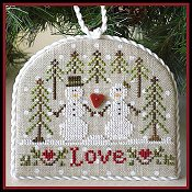 Country Cottage Needleworks - Classic Collection #3 - Snow Love THUMBNAIL