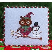 The Stitchworks - Owl Series - Holly Whoo
