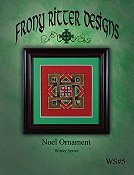 Frony Ritter Designs - Noel Ornament THUMBNAIL