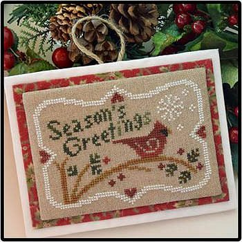 Little House Needleworks - Season's  Greetings MAIN