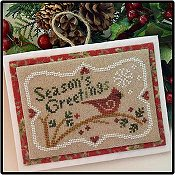 Little House Needleworks - Season's  Greetings