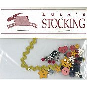 Shepherd's Bush - Lula's Stocking Embellishment Pack