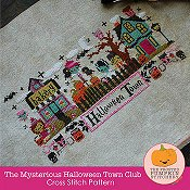 The Frosted Pumpkin Stitchery - The Mysterious Halloween Town_THUMBNAIL