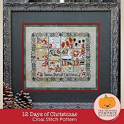 The Frosted Pumpkin Stitchery - 12 Days of Christmas_THUMBNAIL